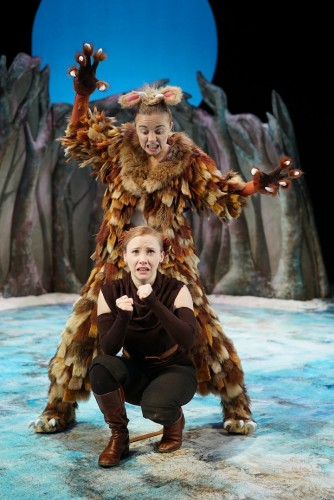 The Gruffalo's Child - Sophie Alice as The Gruffalo's Child and Catriona Mackenzie as The Mouse