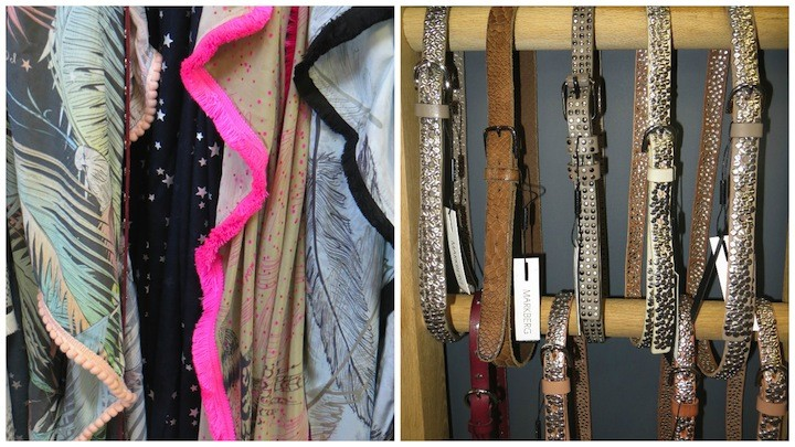 scarves and belts