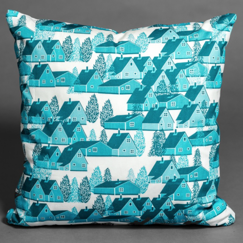 Greenland Blue Cushion normally £65, now £35 for limited time only
