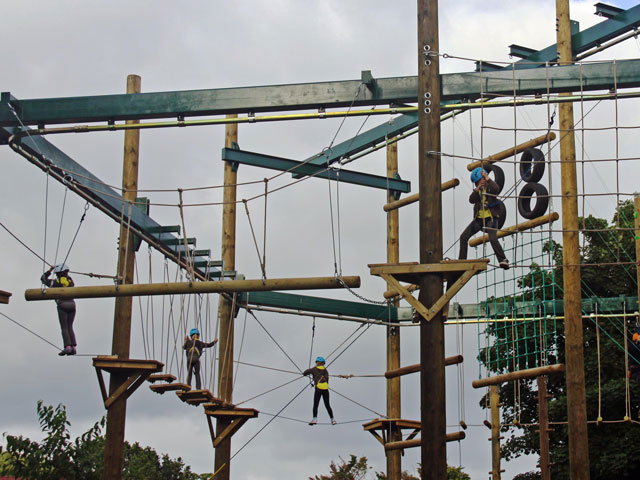 vivary high ropes
