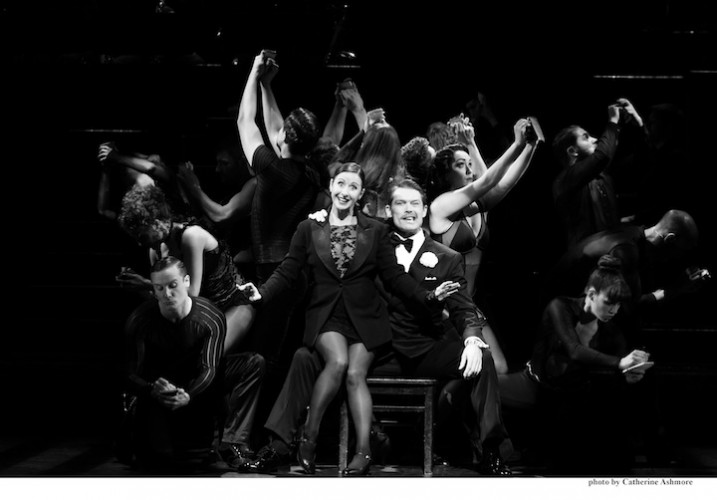 CHICAGO. Hayley Tamaddon as 'Roxie Hart' and John Partridge as 'Billy Flynn'. Photo by Catherine Ashmore