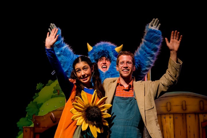 My Pet Monster play at the Connaught Theatre, Worthing on the 31/05/2015. Photo: David Tett