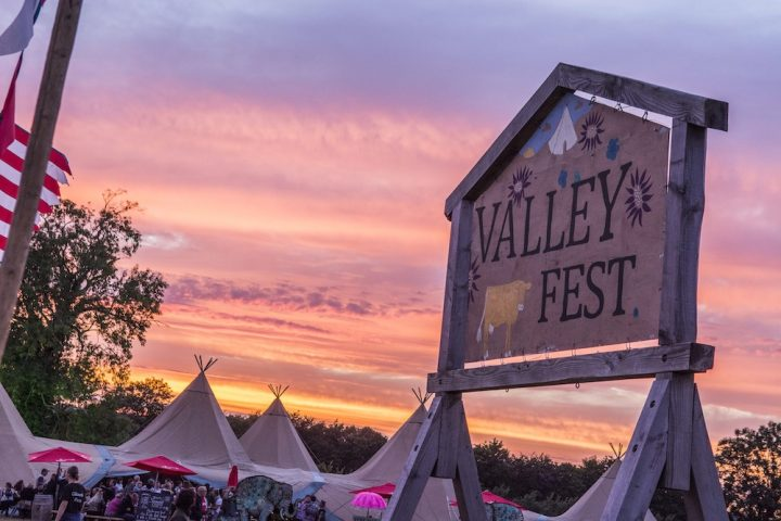 Sunset Valley Fest sign