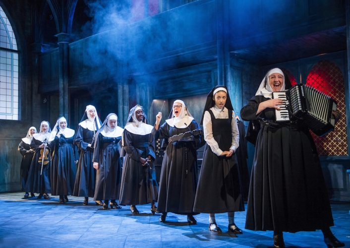 A scene from Sister Act @ Leicester Curve. Directed and Choreographed by Craig Revel Horwood.