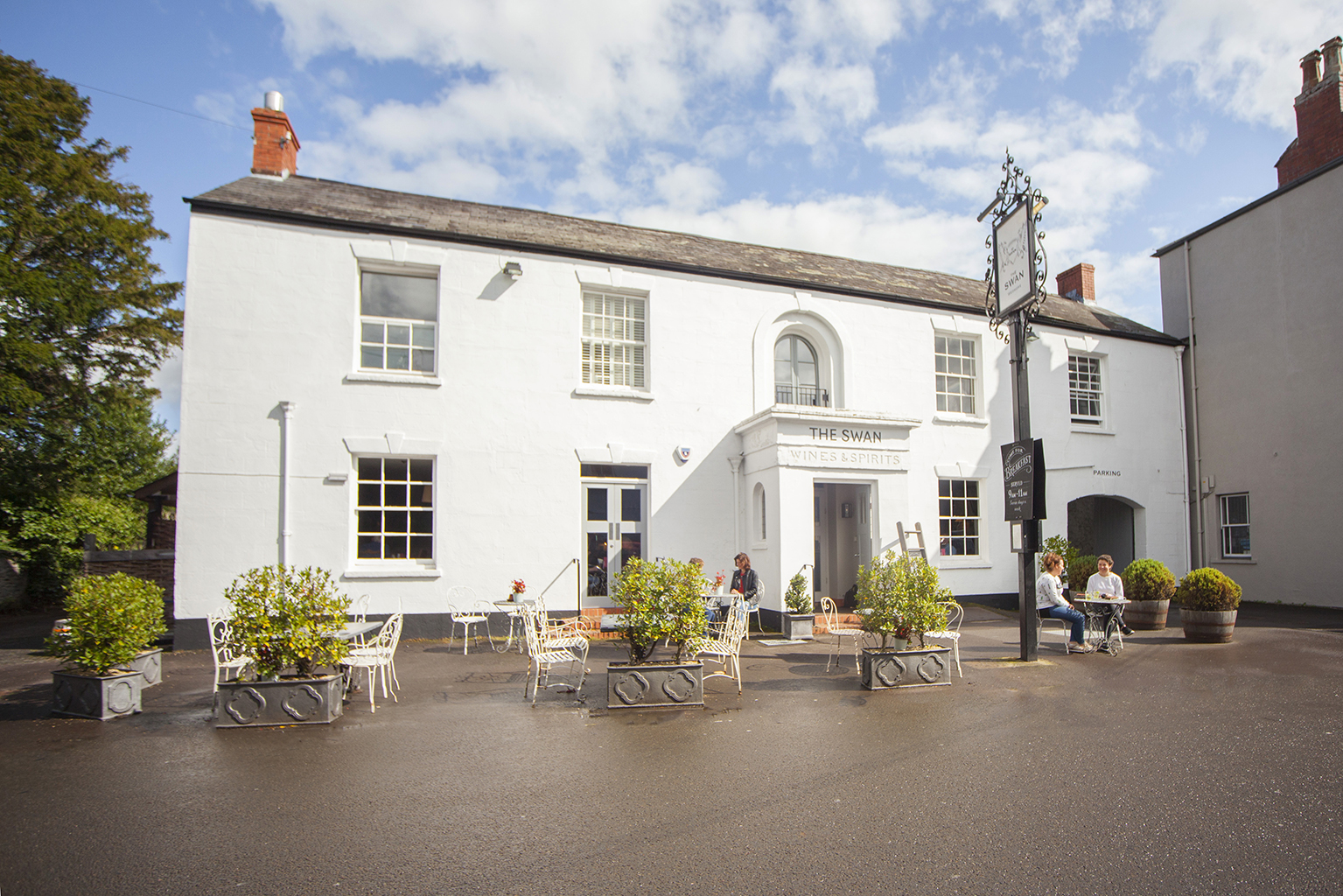 Georgian coaching inn