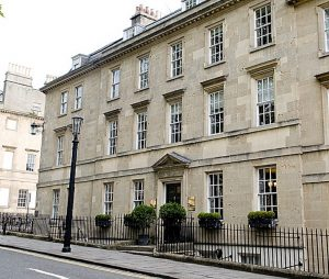 georgian building bath