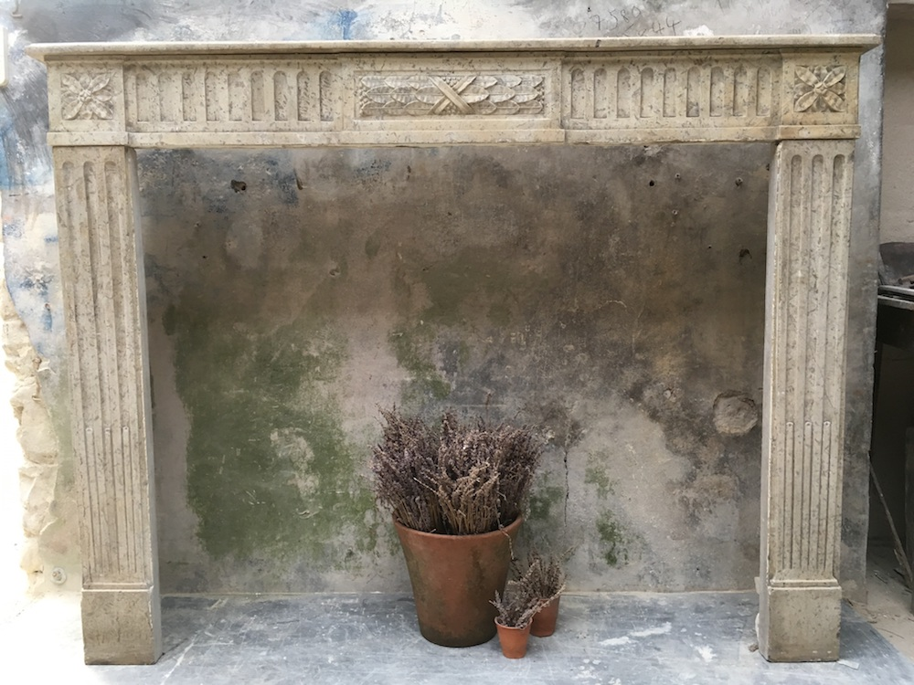 stone fireplace, archtitectural salvage