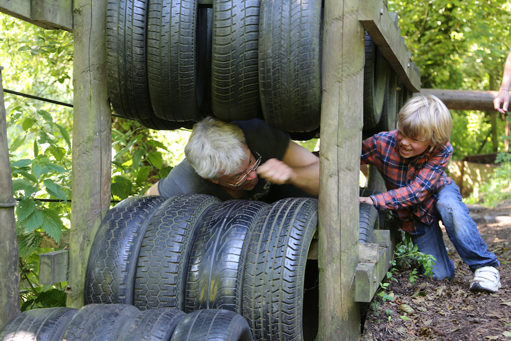 mill on brue bruton tyres man boy outdoor activity centre