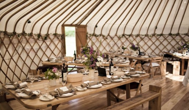 yurt banquet somerset
