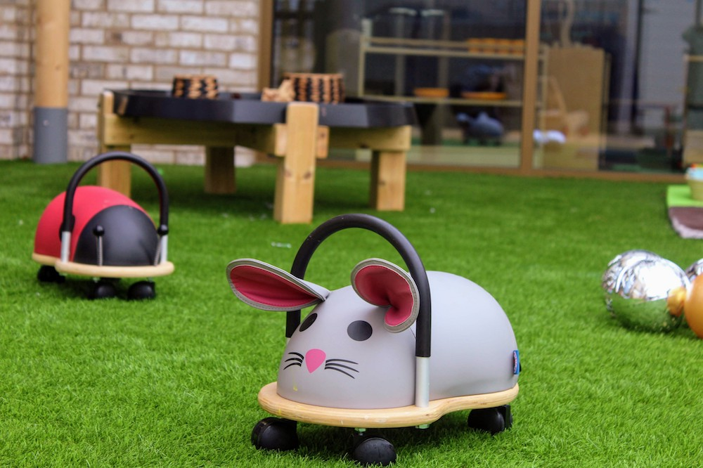 childrens toys sit on mouse wooden