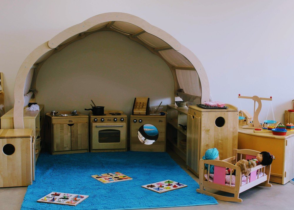play toy kitchen wooden