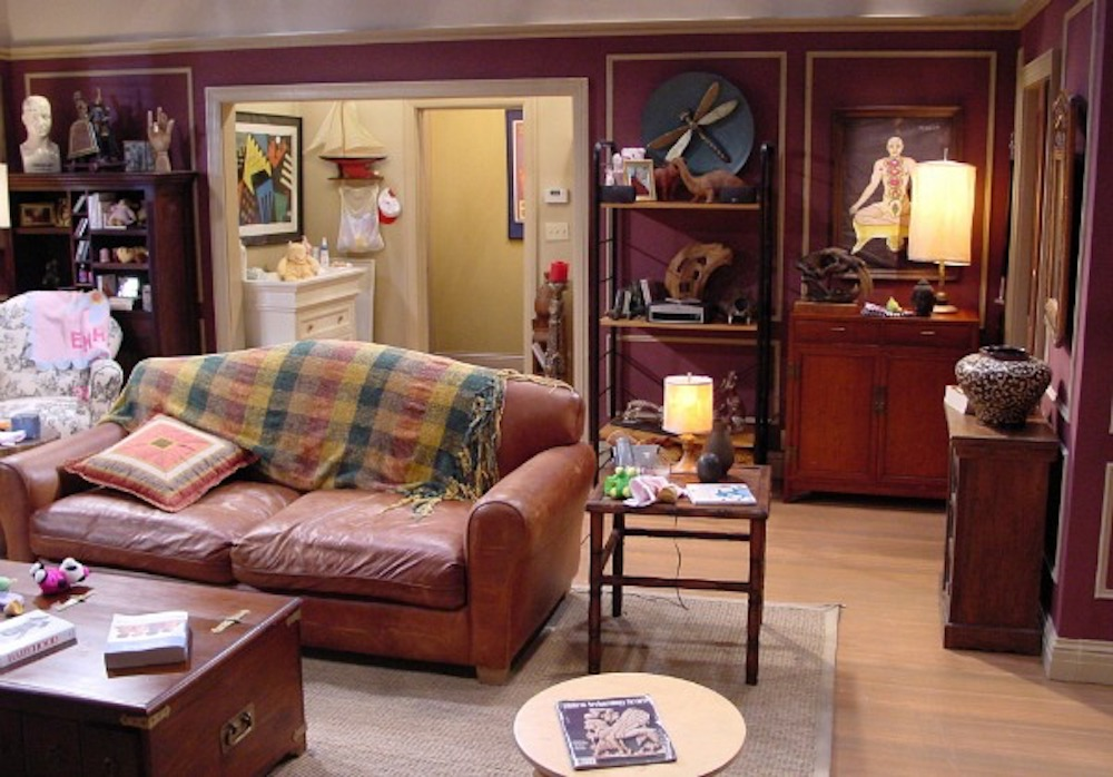 Ross's apartment in Friends TV show