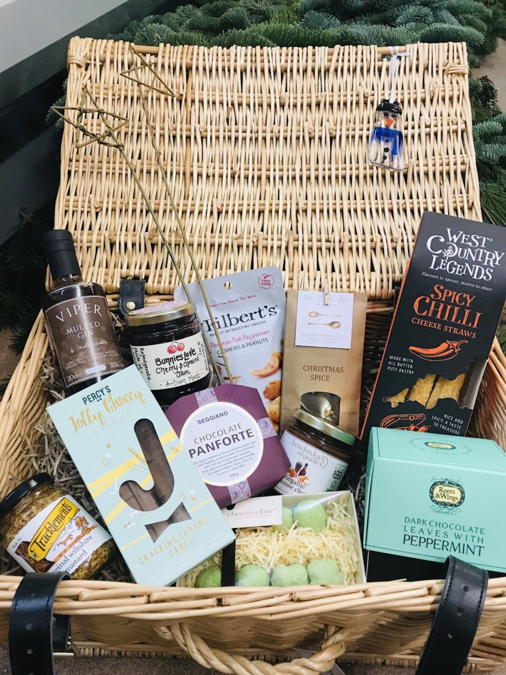 in love with local christmas hamper