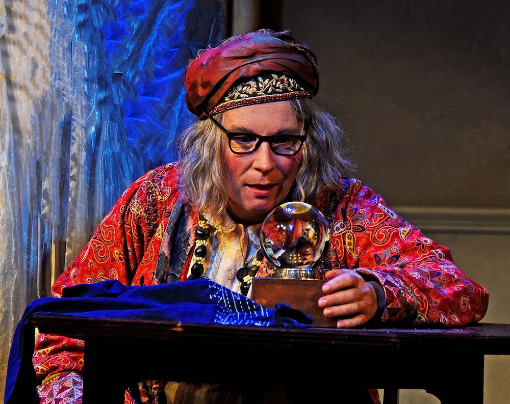 Blithe Spirit - Jennifer Saunders as Madame Arcati in Blithe Spirit - Photo credit Nobby Clark ®